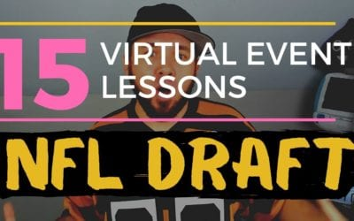 Virtual NFL Draft: 15 Lessons When Moving a Live Event to Virtual
