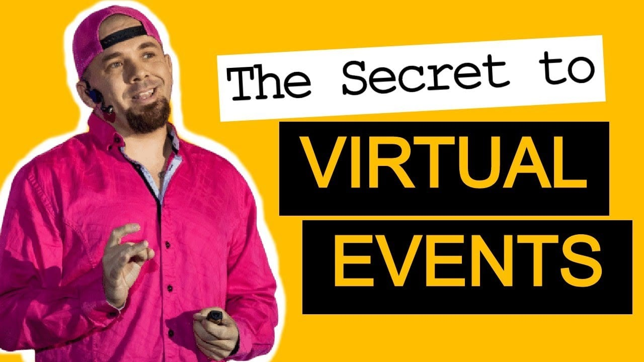 Secret to Virtual Events from National Speaker Association Keynote