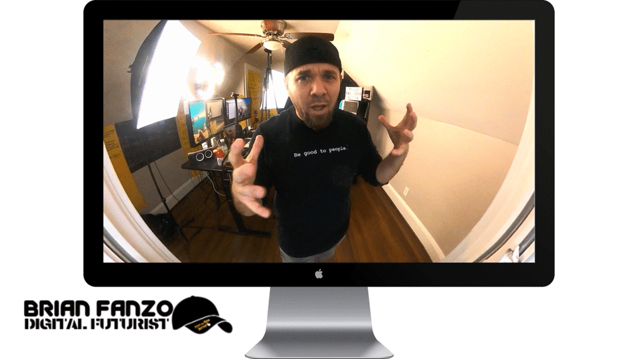 iSocialFanz Virtual Presenter in iMac
