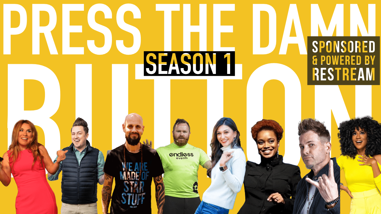 Press The Damn Button Season 1 Podcast Lineup