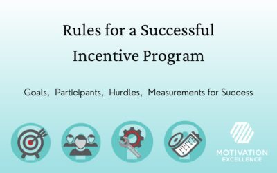 Rules for Successful Programs (Incentive, Loyalty, Rewards)
